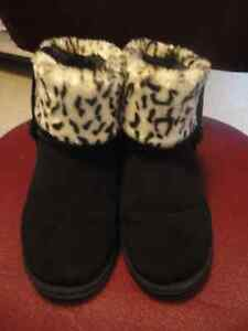Barbo 'Candy' Faux-Fur Suede Boot Reduced