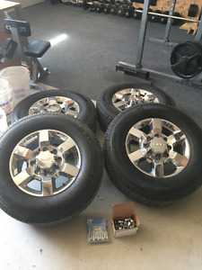 New GMC/Chevy wheels and tires