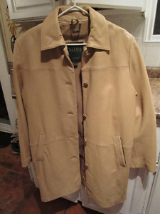 Danier Leather coat like new