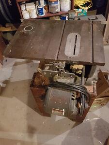 "Vintage 10"" Craftsman Table Saw"