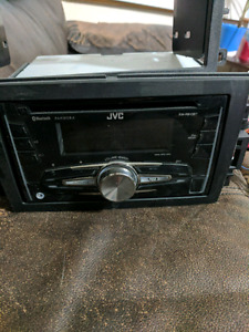 JVC deck with accessories