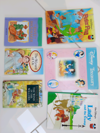 Childrens books x 6