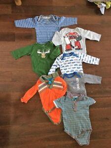 Lot vêtement garçon 3-9 mois (26 morceaux)