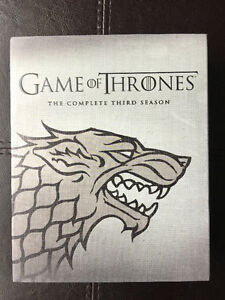 Coffret BluRay+DVD Game of Thrones Saison 3 Saguenay Saguenay-Lac-Saint-Jean image 1