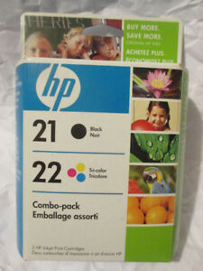 Never opened! HP21&22 Ink - 2008