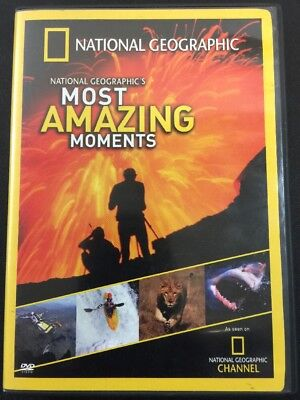 National Geographic's Most Amazing Moments (DVD, 2004)