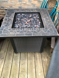 Fireplace for your deck