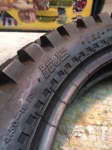 Motorcycle Tire - Almost New