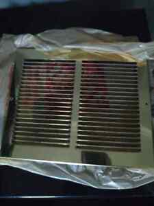 Metal vent covers (All 3) Kitchener / Waterloo Kitchener Area image 1