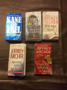Jeffrey Archer Paperback Novels