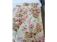 Flowered Curtains