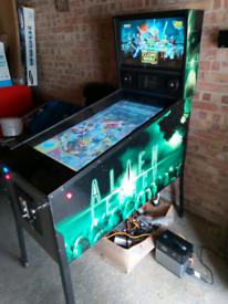 Pinball Machine, arcade machine, virtual Pinball