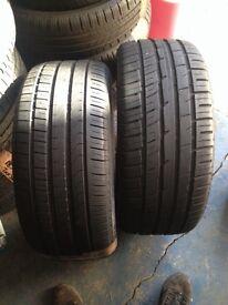 2x 285 40 21 Continental tyre 8mm Pirelli Free fitting