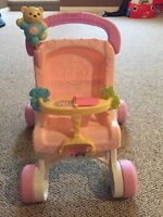 Fisher price stroller/walker