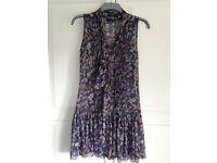 Next Floral Dress - size 8