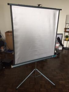 Portable projector Screen! 1m*1m