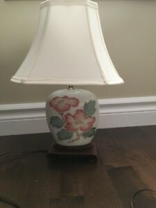 For Sale: Small Antique Accent Table Lamp