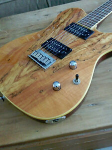 TRADE: Fender Custom Telecaster Spalted Maple HH