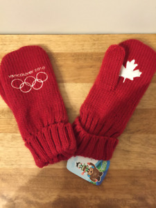 2010 Vancouver Red Olympic Mittens