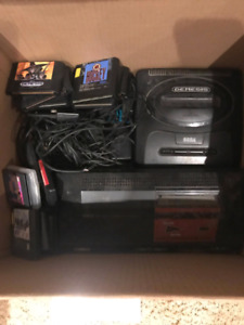 Sega box master and games