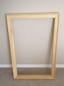 Gallery Stretcher Bars+inner bars for stretching Canvas, 5photos Edmonton Edmonton Area image 1