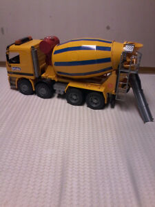 Bruder toys farming equipment, tractors, trucks