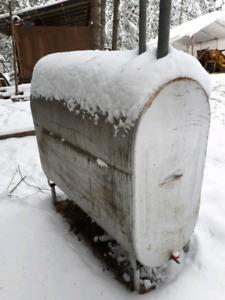 Oil heater tank