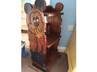 Micky mouse book shelf