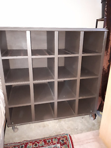 16 Section Storage Cabinet