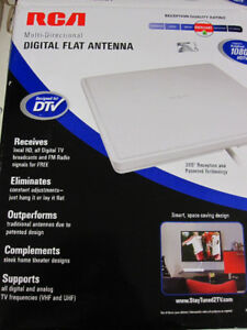 RCA Multidirectional Digital Flat Antenna