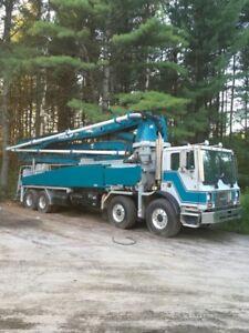 42 meter concrete pump truck