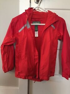LL Bean size 8 lined jacket