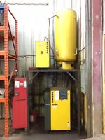 Two Air Compressors