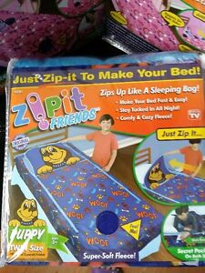 ZIP IT BAGS TO HELP CHILDREN MAKE THEIR BEDS