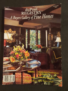 duPont REGISTRY /  A Buyers Gallery of Fine Homes (Aug 1997)