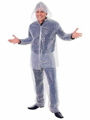 Bubble Wrap Costumer Costume - Adult Fancy Dress Popping Stag Night Outfit Suit](Bubble Suit Costume)