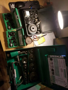 Greenlee knockout Punch all set +