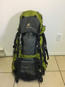 DEUTER AIRCONTACT 65+10 - Excellent Expedition Backpack
