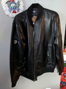 Leather Jacket - New