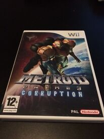 Metro is Prime Corruption Wii