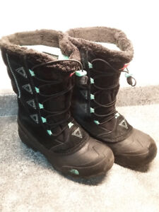 North Face winter boots boys and girls