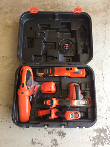 Black and Decker Combo Power Tool Kit