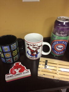 NEW lot of PEI tourism items - decor, lighthouses, shirts, more