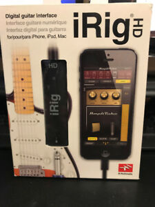 iRig HD Guitar Interface - Jam on your Phone