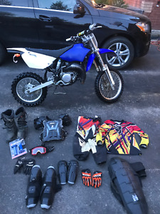 2014 Yamaha YZ85 100% perfect used strictly on cottage trails -