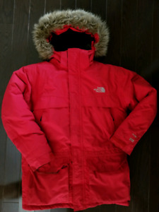 BOYS NORTH FACE PARKA