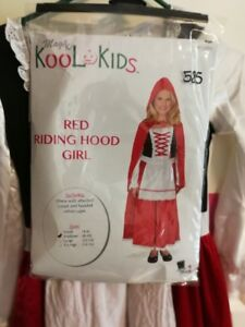 Red Riding Hood Costume Size Medium 8-10