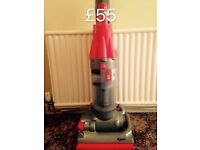 DYSON DC07 FULLY SERVICED MINT CONDITION 6 MONTHS WARRANTY RED