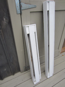 TWO BASEBOARD HEATERS - 1000 W and 750 W