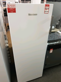 Brand New Blomberg FNT4550 Tall Frost Free Freezer in White